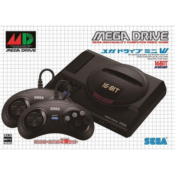 "Sega Genesis Mega Drive mini DX Pack ""Title Collectors Edition"" (NEW)"