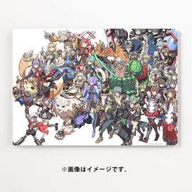 Xenoblade 2 High Acrylic Giclee Graphic Artboard (Nintendo JP Official)