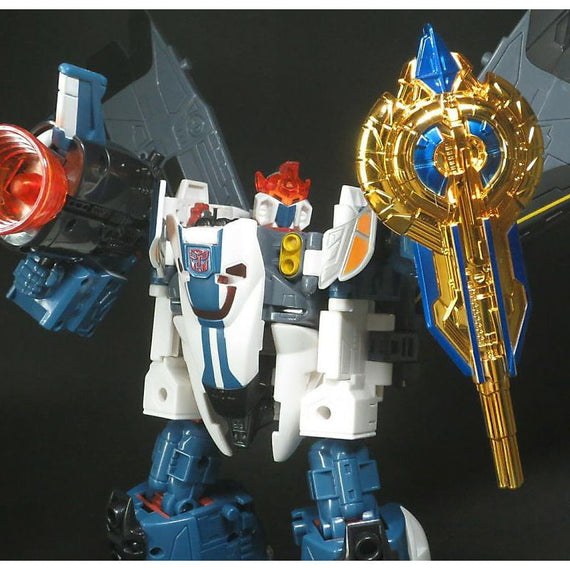 Transformers Legendary Weapon Gold Vector shield Exclusive
