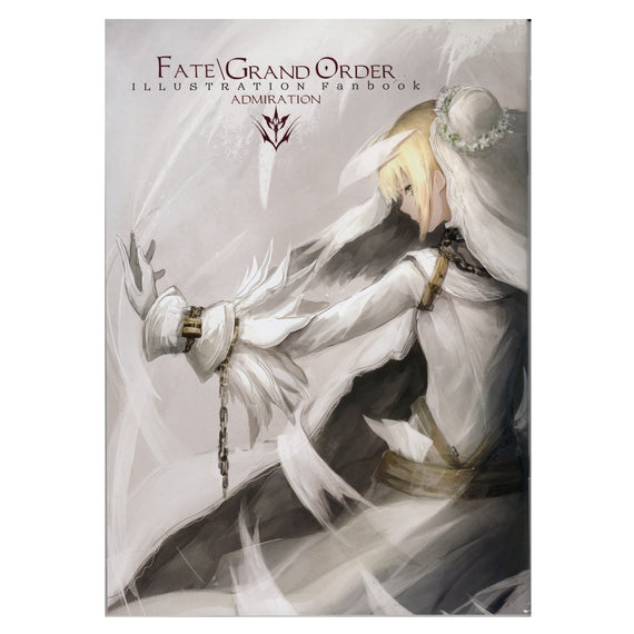 "Fate/Grand Order Illustration Art Book ""ADMIRATION"" fandom clique TYPE MOON"