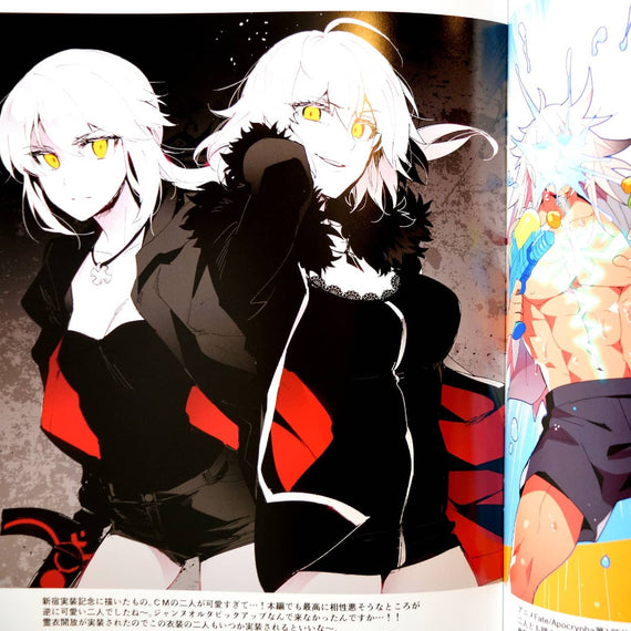 "Fate/Grand Order Illustration Art Book ""ReDrop 1st"""