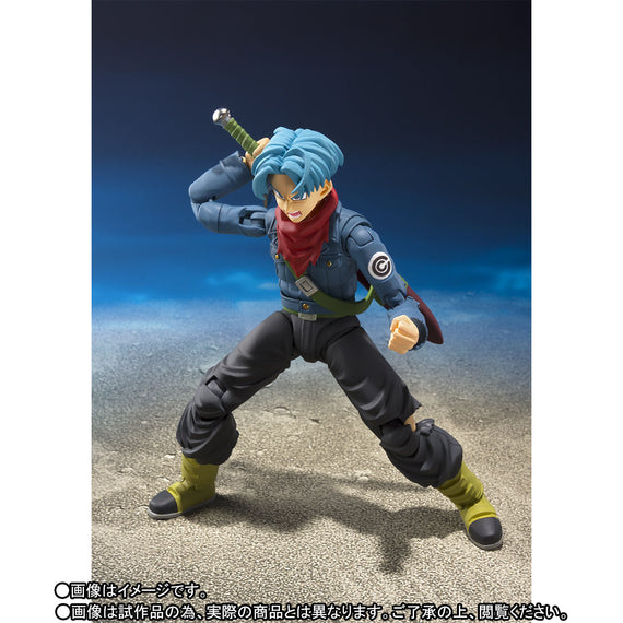 Dragon Ball Super Trunks from the future S.H.Figuarts