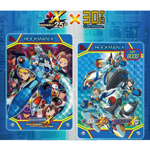 Carddass CAPCOM MEGA MAN X 25th Anniversary edition (201811)