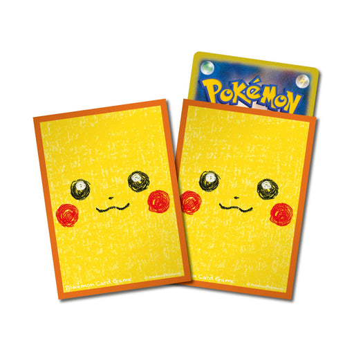 Pokemon Deck Shield Pikachu ver.2 (64 Pcs) Standard Size Sleeves