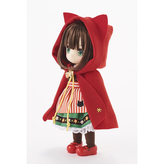 Obitsu Dolls chuchu doll HINA 'Red riding Hood' Exclusive