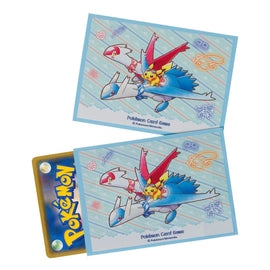 Pokemon card Sleeves Riding on Latias and Latios (64 Pcs)