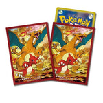 Pokemon card Sleeves Charizard Evolutionary Lineage (64 Pcs)