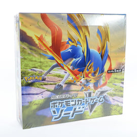 Pokemon Card 2019 Sword Shield Booster Box 'Sword'