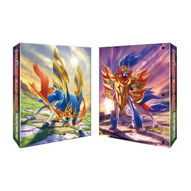 Pokemon Card 2019 Sword Shield Collection File 'Zacian Zamazenta'