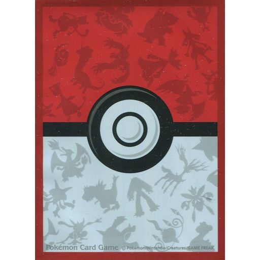 Pokemon Sleeves Monster Ball Red frame Ver. (32 Pcs)