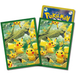 Pokemon Card Sleeves Pikachu's Forest (64 sleeves)