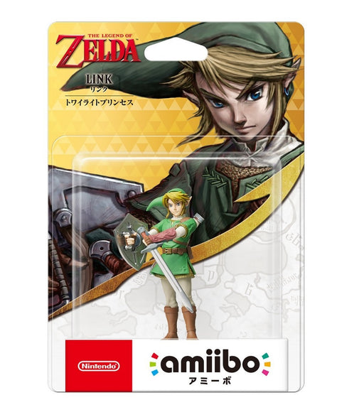 Nintendo amiibo The Legend of Zelda The twilight princess Link (JP ver.)