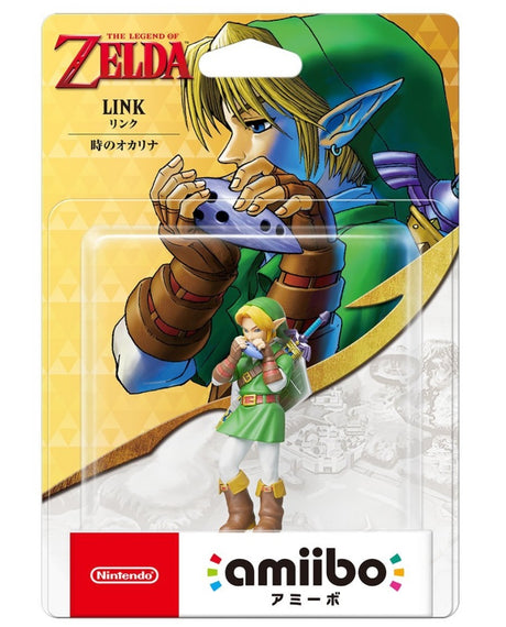 Nintendo amiibo The Legend of Zelda Ocarina of Time LINK (JP ver.)