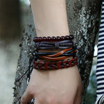 Retro Hemp Rope Braided Bracelet