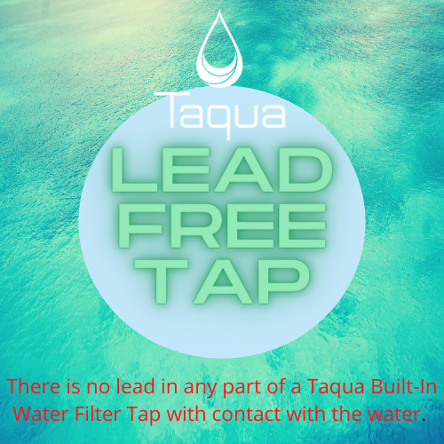 Taqua water filter taps are lead-free