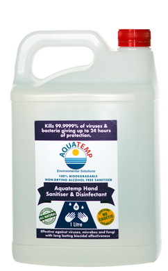 Aquatemp Hand Sanitiser & Disinfectant 5 Litre