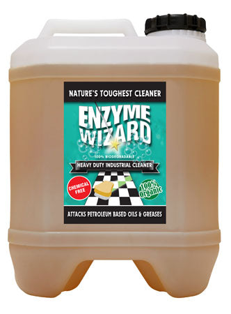 Enzyme Wizard Heavy Duty Industrial Cleaner 20 Litre