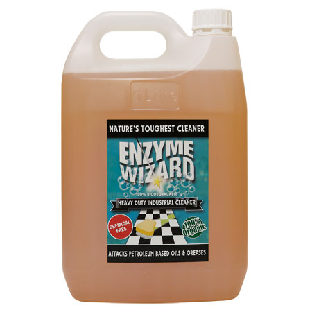 Enzyme Wizard Heavy Duty Industrial Cleaner 5 Litre