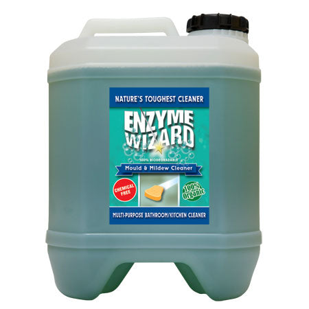 Enzyme Wizard Bathroom & Kitchen Mould and Mildew Cleaner 20 Litre