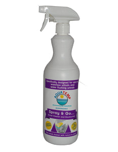 Aquatemp Spray & Go Urinal Cleaner & Deodoriser 1 Litre