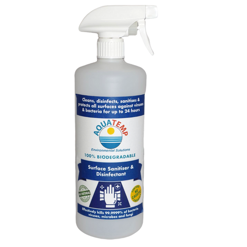 Aquatemp Surface Sanitiser & Disinfectant 1 Litre