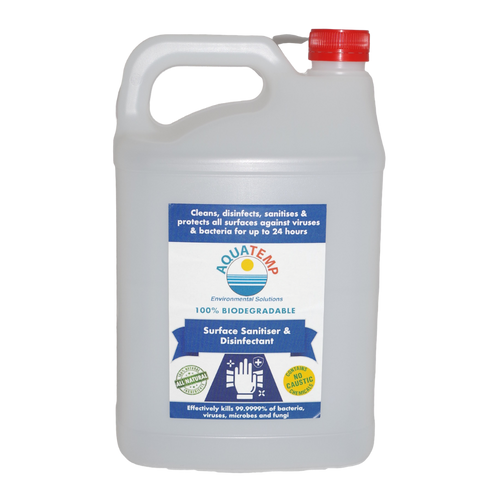 Aquatemp Surface Sanitiser & Disinfectant 5 Litre