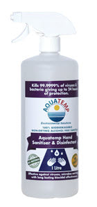 Aquatemp Hand Sanitiser & Disinfectant 500 ml