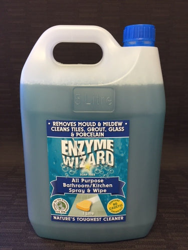 Enzyme Wizard Bathroom & Kitchen Mould and Mildew Cleaner 5 Litre