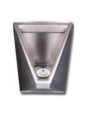 stainless steel waterless urinal