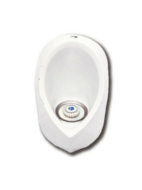 ZeroFlush Porcelain Waterless Urinal ZF501 with Trap Insert