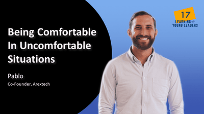 Being Comfortable In Uncomfortable Situations | Pablo | EP 17