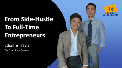 From Side-Hustle To Full-Time Entrepreneurs | Ethan & Travis | EP 16
