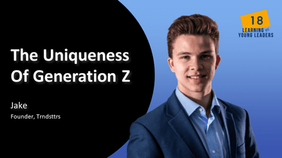 The Uniqueness of Generation Z | Jake | EP 18