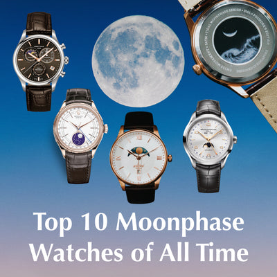 Top 10 Moonphase Watches of All Time