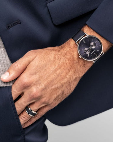 Bering Classic Polished Silver - Men