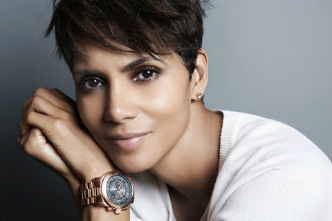 Michael Kors Halle Berry Watch Hunger Stop Campaign