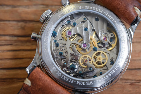 ST1901 Movement in Clear Caseback