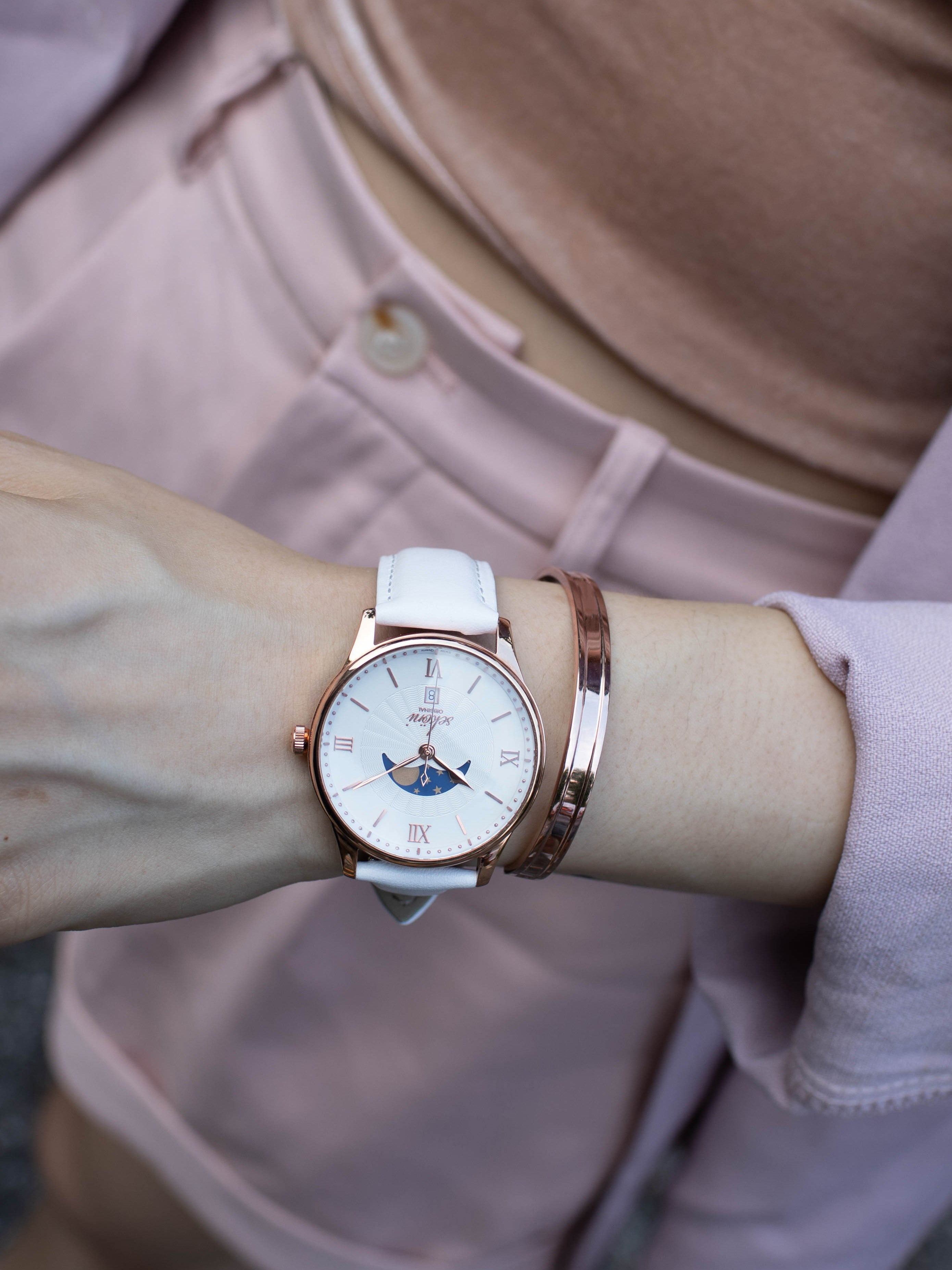Sekoni 2021 Lookbook for Her - Style Rose Gold Watch