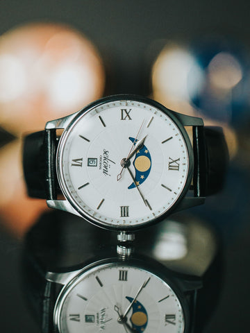 Silver Tidal Moonphase