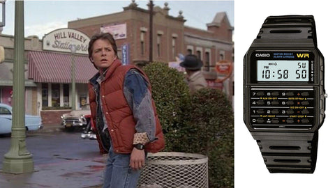 The Casio CA53-W from ​Back to the Future (​1985)- Sekoni Original- Affordable and Luxury Moonphase watches for Men and Women- Blog about watches- Best Moonphase, best movies and films watches