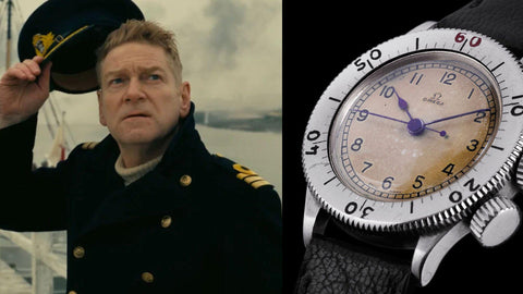 The Omega CK2129 from ​Dunkirk​ (2017)- Sekoni Original- Affordable and Luxury Moonphase watches for Men and Women- Blog about watches- Best Moonphase, best movies and films watches