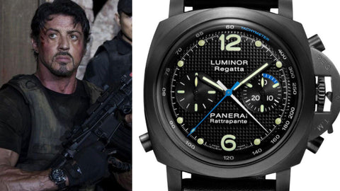 The Panerai PAM 332 from ​The Expendables​ (2010)- Sekoni Original- Affordable and Luxury Moonphase watches for Men and Women- Blog about watches- Best Moonphase, best movies and films watches
