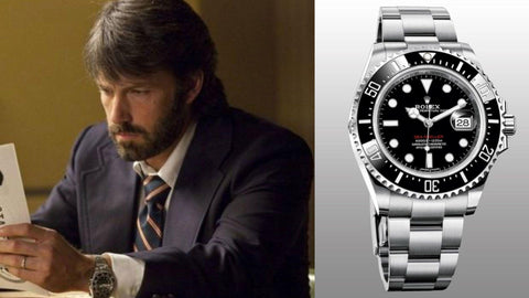 The Rolex Deepsea Seadweller from ​Argo ​(2012)- Sekoni Original- Affordable and Luxury Moonphase watches for Men and Women- Blog about watches- Best Moonphase, best movies and films