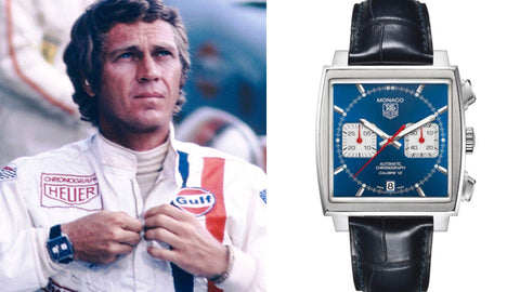 The Tag Heuer Monaco from ​Le Mans​ (1971)- Sekoni Original- Affordable and Luxury Moonphase watches for Men and Women- Blog about watches- Best Moonphase, best movies and films watches
