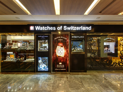 Watches of Switzerland at Paragon Mall
