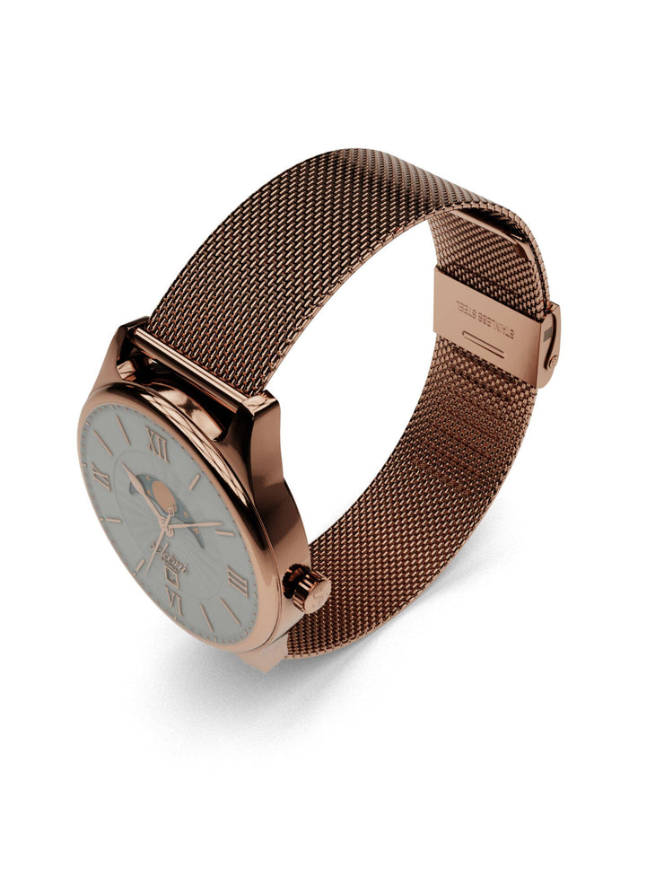 Rose Gold Stainless Steel Mesh