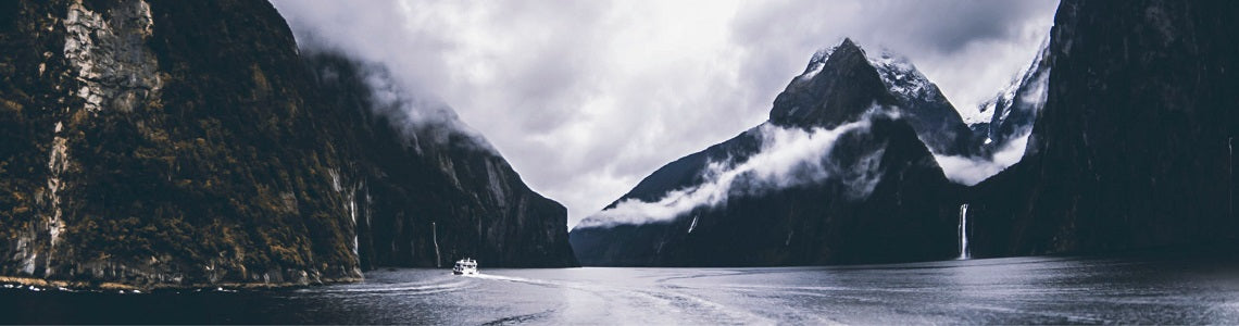 Image of Milford Sound in New Zealand | Evolve Inspired Jewellery