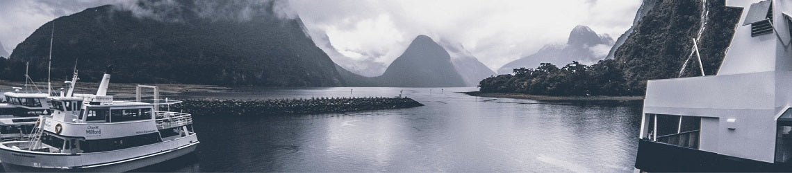 Milford Sound in New Zealand | Evolve Inspired Jewellery