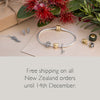 Free shipping offer this Christmas from Evolve Inspired Jewellery