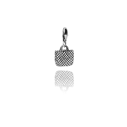Kete, silver link charm, from Evolve Inspired Jewellery
